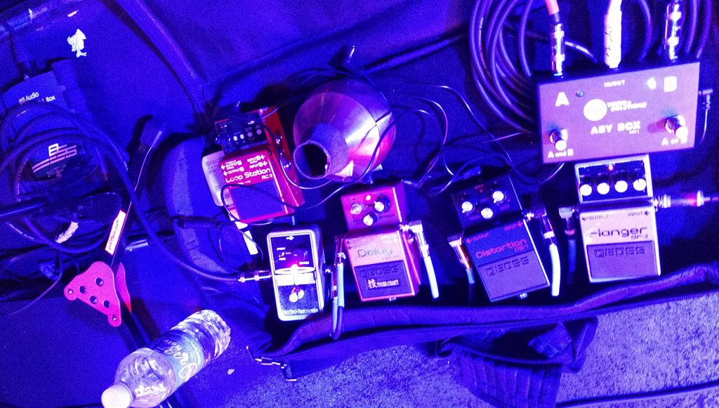 Christian Scott Pedalboard